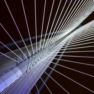szefei-abstract view of a suspension bridge-25