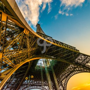 thephotoworld-wide angle shot of the eiffel tower from below-25
