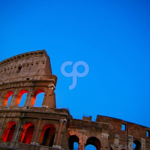 zimmytws-the colosseum in rome italy at dusk-25