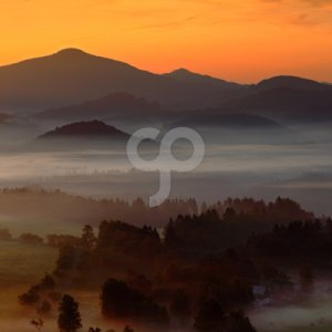 ondrej prosicky-misty foggy morning with sunrise in fall valley of bohemian switzerland park-25