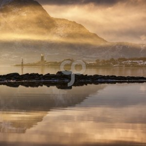 valentin armianu-early morning over the water of lofoten island norway-25